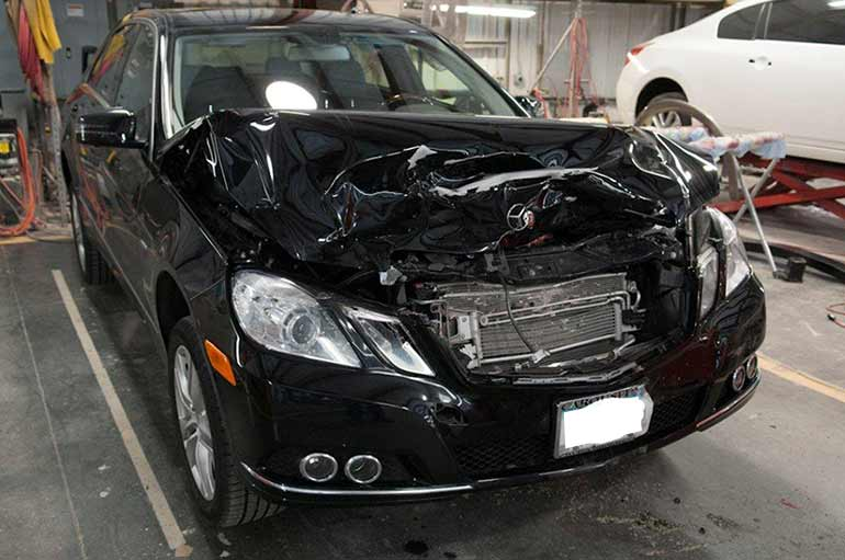 Our mercedes benz collision repair great plains auto body for Mercedes benz collision repair